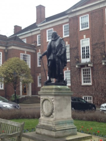 Statue of Sir Francis Bacon in Gray's Inn
